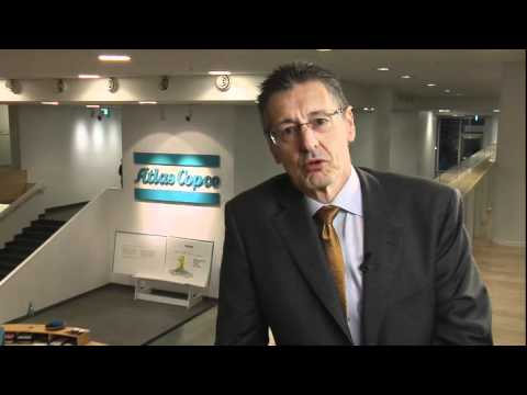 AtlasCopco CEO. Ronnie Leten about working at Atlas Copco
