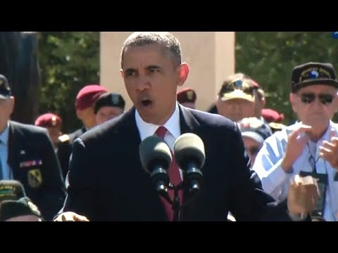 President Obama's Complete D-Day Address (June 6, 2014)
