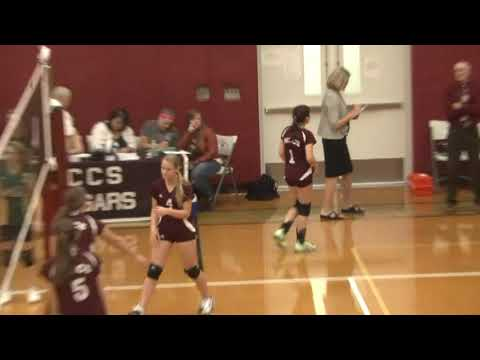 NAC - NCCS JV Volleyball 10-1-13