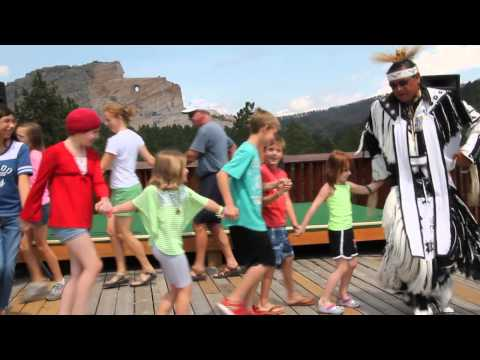 Crazy Horse Memorial - Native American Dancing