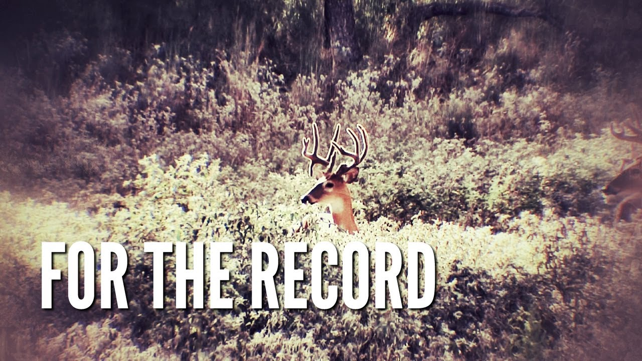 For the Record | Record Rack Deer Feed - YouTube