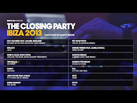Defected presents The Closing Party Ibiza 2013 Album Sampler