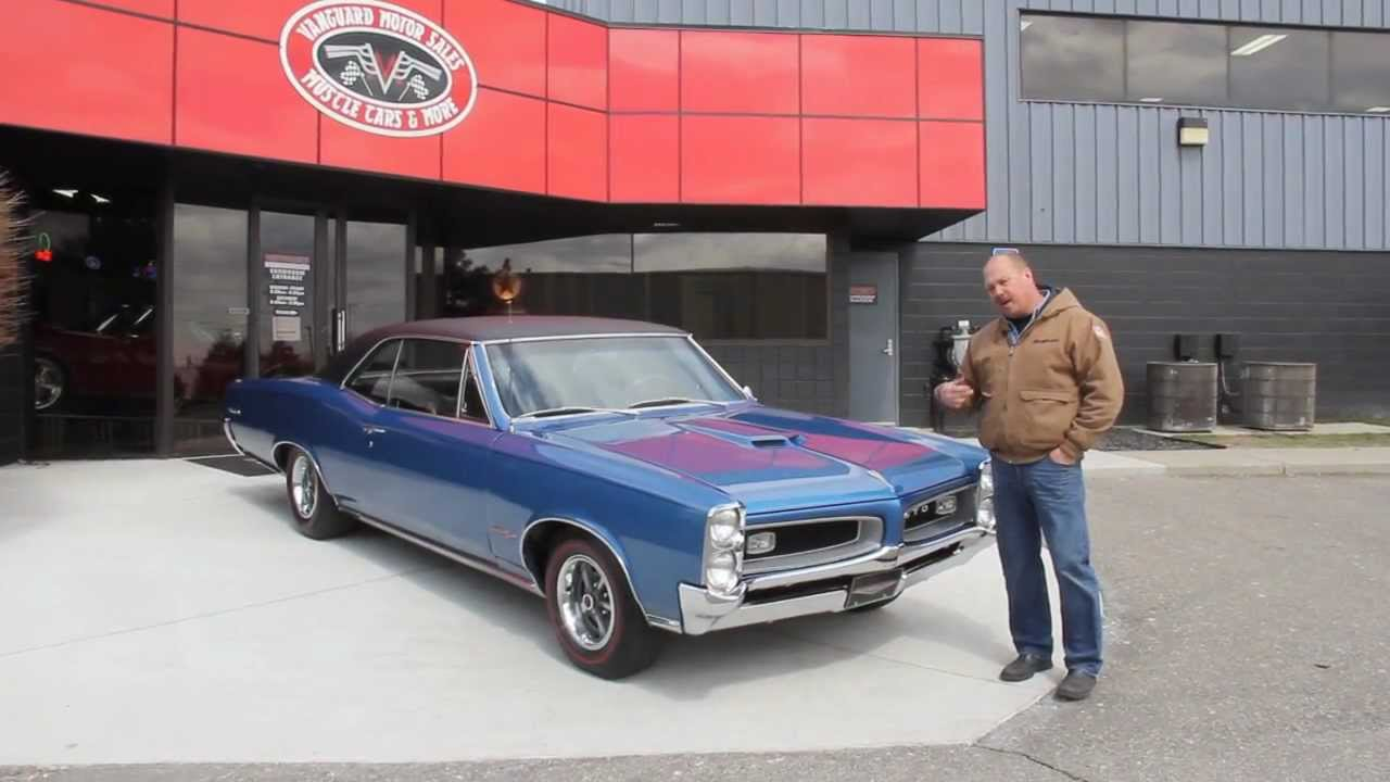 1966 Pontiac Gto Classic Muscle Car For Sale In Mi