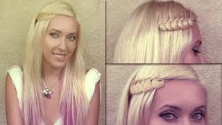 Knotted Braid Hair Tutorial Party And Everyday Hairstyles