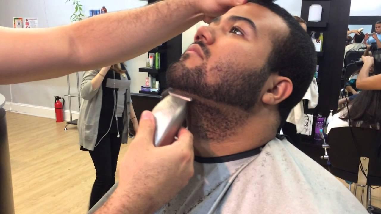 how to line up a beard beard shape up youtube. Black Bedroom Furniture Sets. Home Design Ideas