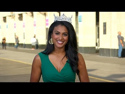 Miss America Nina Davuluri Interview 'Applying to Medical School'