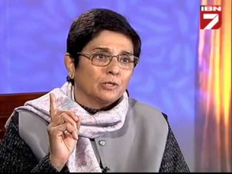Teekhi Baat with Kiran Bedi_ Prabhu Chawla on IBN7