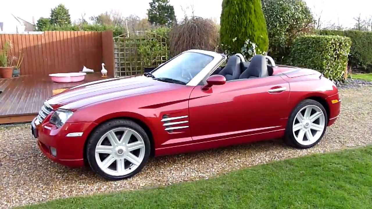 Video Review Of 2006 Chrysler Crossfire 3 2 Convertible