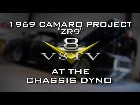 Dyno Day With The ZR9 1969 Camaro, LS7 427 LS9 Supercharger Video V8TV