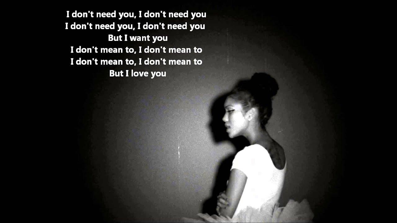 Jhene Aiko Lyrics The Worst Jhene Aiko-The Worst (...