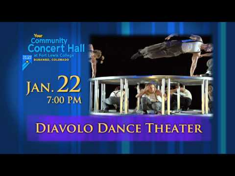 Diavolo Dance Performance in Durango | Community Concert Hall at Fort Lewis College