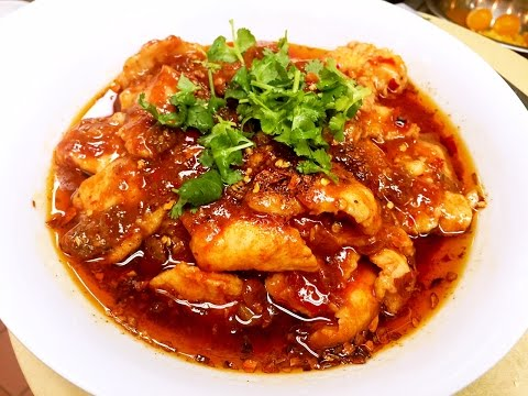 The Most Famous Sichuan Spicy Boiled Fish Recipe 水煮魚 CiCi Li