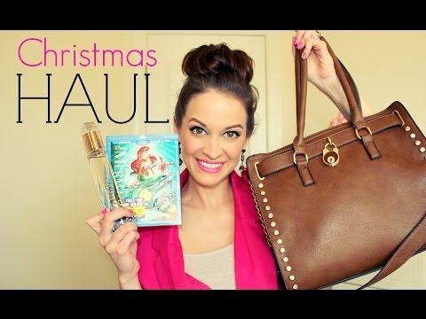 What I Got For Christmas Haul 2013! ❤ Beauty, Fashion & Home Decor