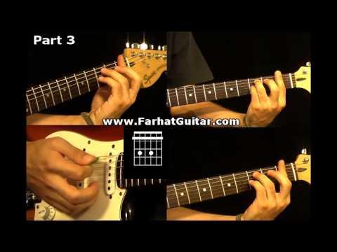Roxanne - The Police 3/5 Guitar Lesson www.FarhatGuitar.com
