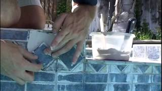 How To Replace Loose, Cracked Or Missing Pool Tile With