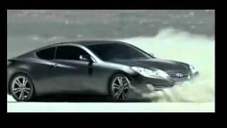 Реклама автомобиля Hyundai Genesis Coupe: драйв в пустыне