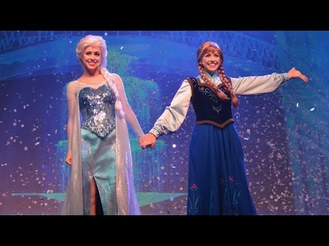 MouseSteps Weekly #107 Frozen Summer Fun Overview, Disney's Hollywood Studios: Anna, Elsa, Kristoff