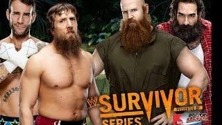 CM Punk & Daniel Bryan Vs. Erick Rowan & Luke Harper