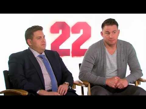 Channing Tatum & Jonah Hill Talk 22 Jump Street - Celebrity Interview