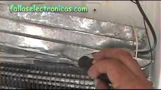 Cómo detectar fuga de gas en nevera-freezer