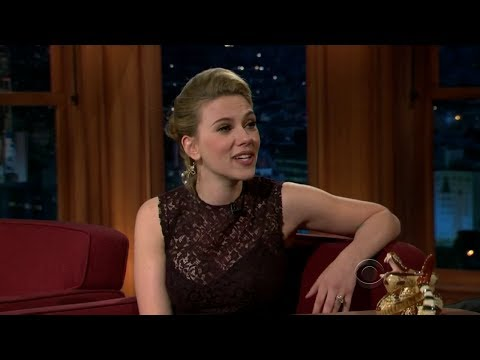 TLLS w/ Craig Ferguson - Scarlett Johansson (Full Interview)