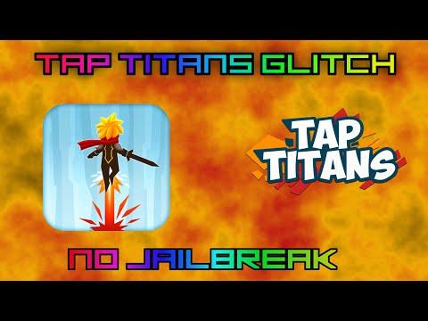 tap titans glitch