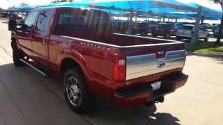 All New 2014 Ford F250 Platinum Power Stroke Diesel Truck