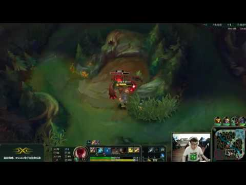 SS SofM cầm Leesin đi rừng đối đầu Graves của ROX Peanut rank Hàn | Stream 27-06-2016
