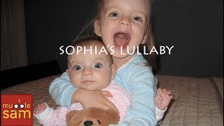 2-YEAR-OLD SOPHIA CALMS CRYING BABY SISTER WITH A LULLABY