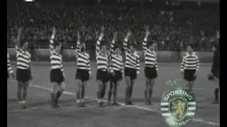 Ol. Lyon - 0 x Sporting - 0 de 1963/1964 1ª mão das 1/2 finais Taça das Taças