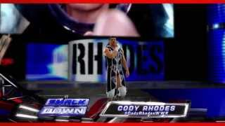 Cody Rhodes WWE 2K14 Entrance And Finisher (Official