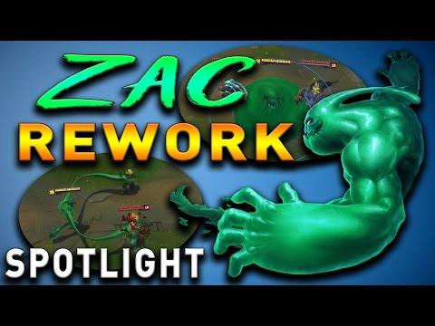ZAC REWORK CHAMPION SPOTLIGHT - LOL Midseason Update German Deutsch + Analyse