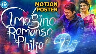 Suriya's 24 Movie Teaser - Motion Poster- Samantha, Nithya Menen