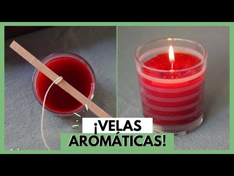 C mo hacer velas arom ticas imujer hogar youtube - Como hacer velas ...
