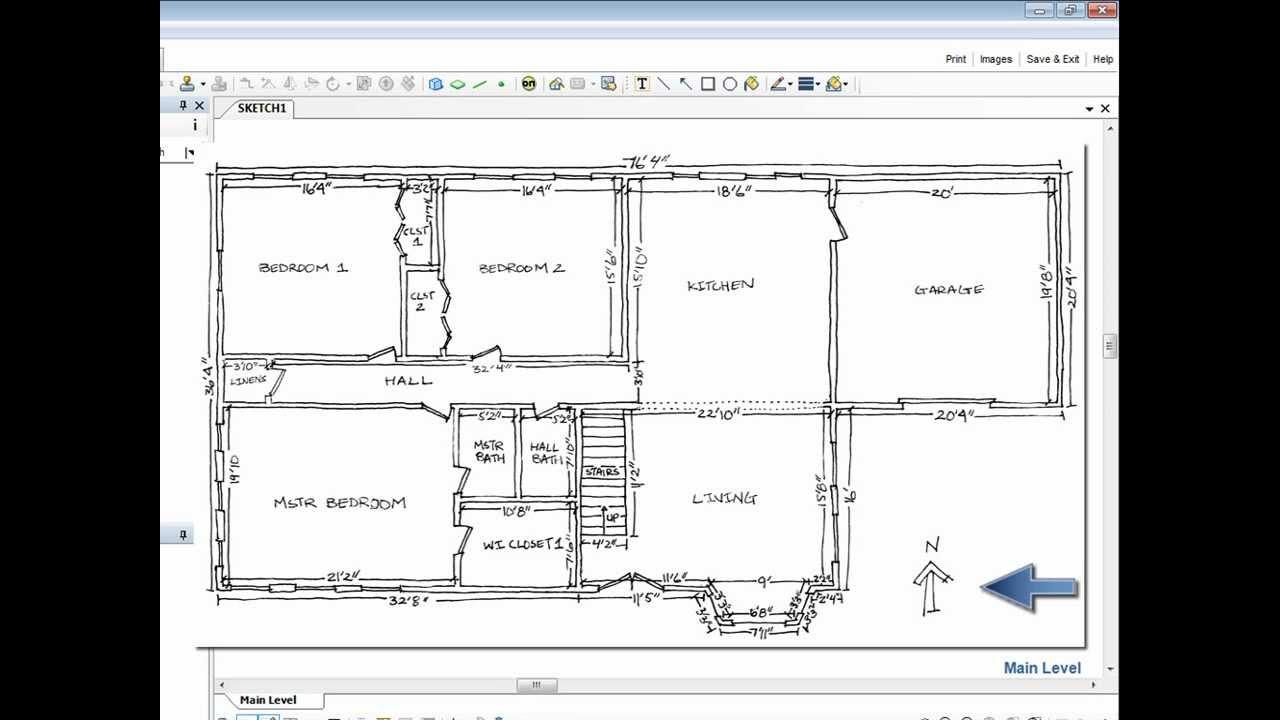 Xactware Self Paced Training How To Sketch Floor Plans In