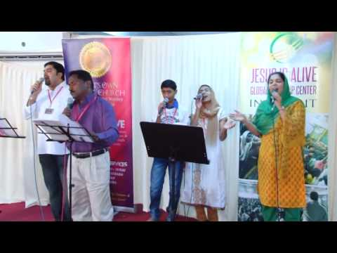 MIRACLE CONFERENCE 2013 - Ps. Tinu George in Kuwait- Day 1 (Part 1)