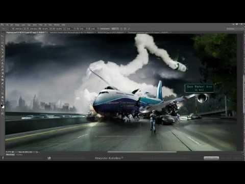Ghép ảnh photoshop - Vô đối