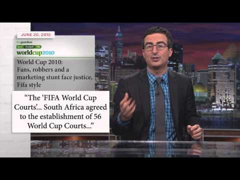 Last Week Tonight with John Oliver (HBO): FIFA and the World Cup