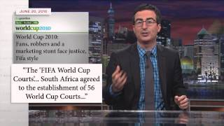 John Oliver vs FIFA and the World Cup