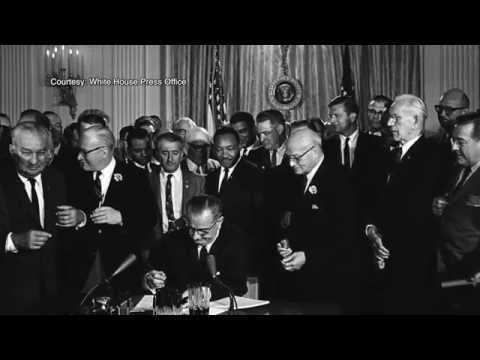Civil Rights Act Anniversary Ceremony