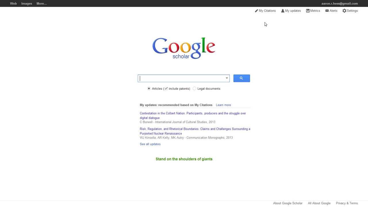 how to use google scholar youtube