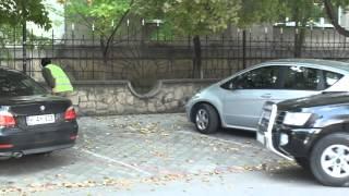 Parcare rezervată cu administrator agresiv