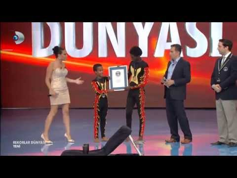 Ethiopian Videos - Ethio Circus Amanuel & Samuel Break Guinness World Records
