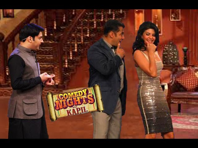 Salman Khan Of KICK on Comedy Nights with Kapil with Kapil Sharma 26th July 2014 Episode