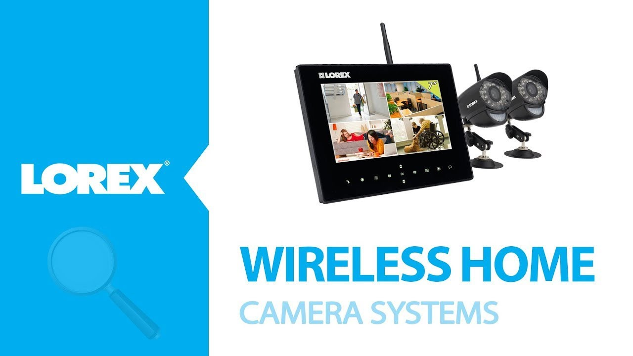 Wireless Home Camera System Lorex Live Sd Series