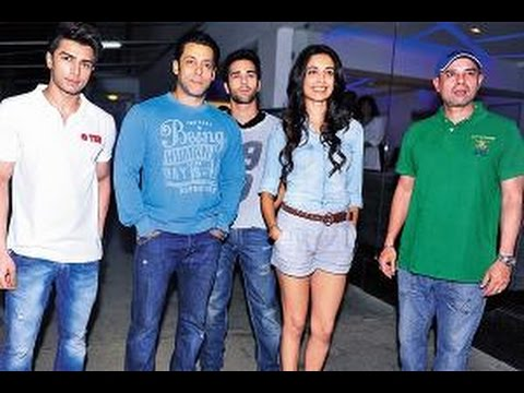 Salman Khan, Pulkit Samrat, Atil Agnihotri & Celebs at The Screening of Movie O Teri