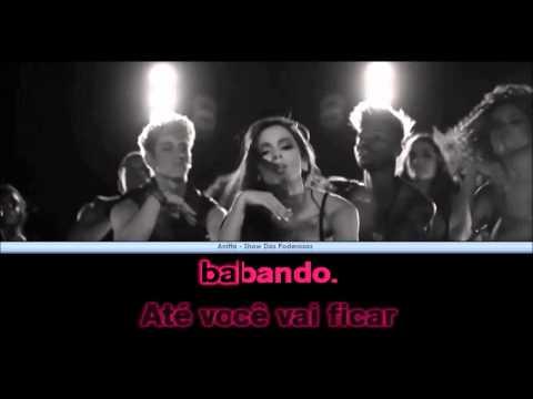 Show das Poderosas - Anita - Karaoke