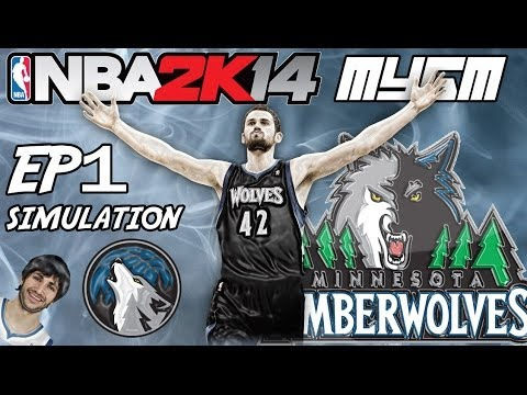 NBA 2K14 - Simulation MyGM Ep.1 | Minnesota Timberwolves | Help me Make Decisions!
