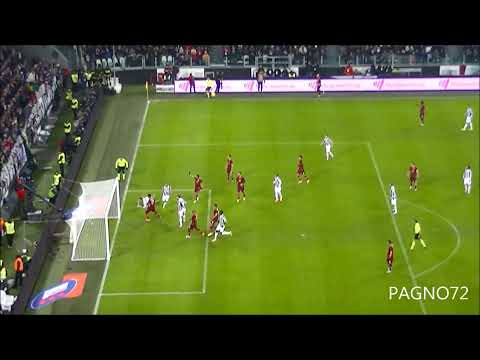 JUVENTUS Vs Roma Goal Vidal 1-0