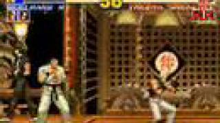 The King of Fighters 95 Gameplay [Kyo's Team Part 1] view on youtube.com tube online.